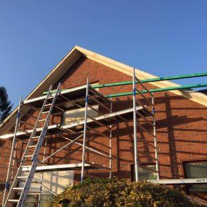 Dakwerken Adriaenssen - Project 8: Renovatie voor Rockpanel 7030 allemaal in verstek