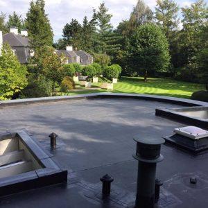 Dakwerken Adriaenssen - Project 12: Vernieuwen plat dak met EPDM 1,52 mm
